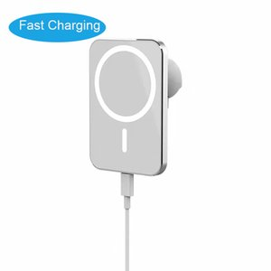 Free Shipping Newly 15W Car Wireless Charger Fast charging Portable Phone Magnetic 15W QI Mini Size