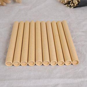 100шт Kraft Paper Благовония Благовония Tube Barrel Малый Box для хранения 10г / 20г Джосс палочке Удобный для переноски OWF2559