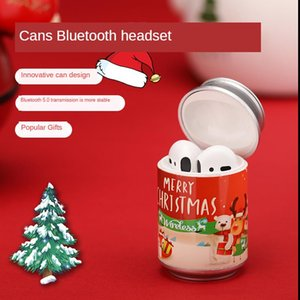 Mini -Pro can tws Christmas cola Bluetooth wireless earphone