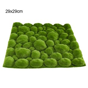 Artificial Plant Lawn Home Garden Wall Window Decoration Simulation Plant Background Wall Moss Turf Green Sod Interior