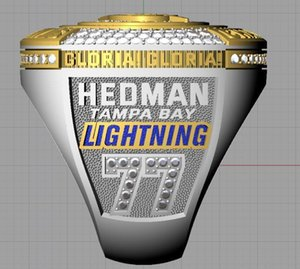 HEDMAN 2020 Tampa Bay Stanley Cup Team Championship Ring GLORIA With Wooden Box Men Sport Fan Souvenir Gift Wholesale Drop Shipping