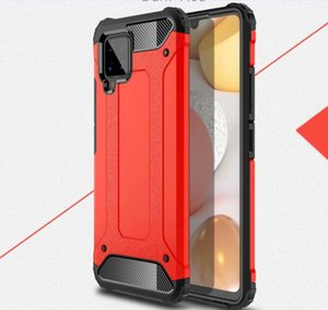 Reminiscent Stand Rugged Combo Hybrid Colorful Fashion Armor Bracket Impact Holster Cover For Samsung Galaxy A42 5G