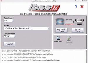 Para Isuzu IDSS II 2017 Isuzu Diagnostic System Service + Licença para muitos PC 42No #