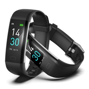 2020 new style S5 sports health bracelet with temperature measuring blood oxygen pressure and heart rate, waterproof intelligent Bracelet
