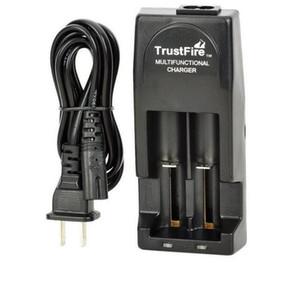 100% trustfire Original TR001 carregador duplo multifuncional carregador de bateria duplo para 18650 18500 17670 16340 14500 10440 16430 baterias