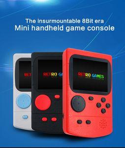 Juegos retro de twch La consola de juegos de mano de 8 bits ERA MINI Handheld Bulit-in 500 Classic Games 3.0 pulgadas Pantalla de color GC35