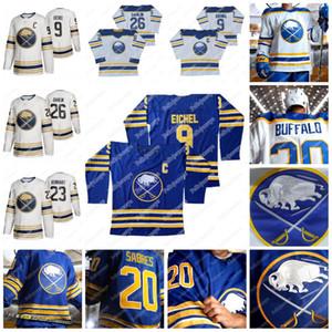 4 Taylor Hall (A) Buffalo Sabres 2021 Reale Jersey 9 Jack Eichel (C) Rasmus Dahlin Eric Staal Sam Reinhart Jeff Skinner Montour Hockey