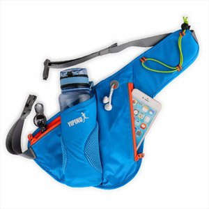 1pc Marathon Jogging Cycling Running Hydration Belt Waist Bag Pouch Fanny Pack Phone Holder For 750ml Water Bottle
