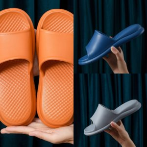 TPG Sandalias de verano Playa Playa Zapatos transpirables Hombres Slipper Dener Slipper PVC Flip-flops