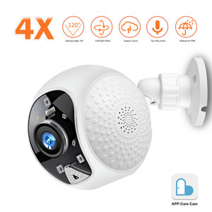 1080P HD WiFi IP Camera Smart Outdoor 4X Digital Zoom Speed Dome Security Camera Wireless Cloud Storage 2MP Network Surveillance