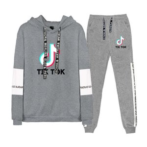 New Hoodie for lovers Tik tok men's and women's hooded suit long sleeve jacket Ienbel sweater