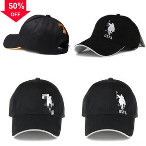 V8G6G Youyedian Moda ICAME Mektup Polo Vintage Beyzbol Golf Carb Cap Nakış Pamuk Beyzbol Şapkası Unisex Ayarlanabilir Açık V