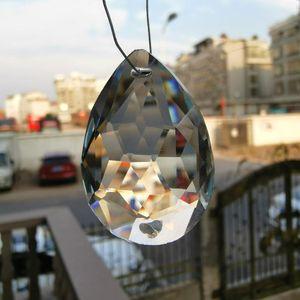 5 unids araña cristales prisma 2 orificios colgantes colgantes colgantes para el techo bajo DIY SunCatcher Home Wedding Decor Accesorios H Jlllxo