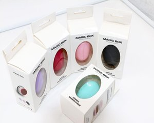 1Pc egg type compact and exquisite makeup brush portable non-absorbent powder brush oval soft sea contour makeup female