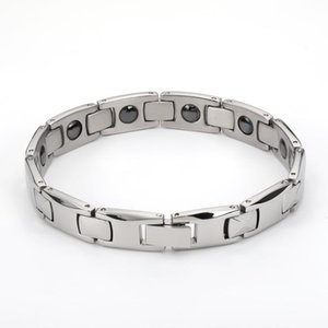 braccialetti del 2020 di moda uomo per gli uomini bijoux titanio 316L terapia fascino gioielli in acciaio inossidabile bracciale magnetico
