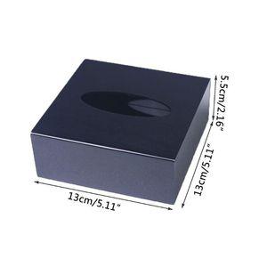 Facial Tissue Dispenser Box Cover Halter Plexiglas Rechteck Serviettenhalter H58C