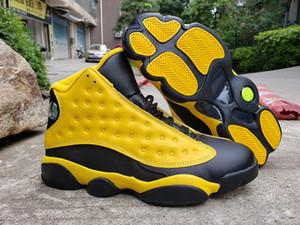 Erkekler Basketbol Ayakkabıları 13 Sarı Bumblebee Jumpman RS-X Dristees 13s XIII Siyah Ucuz Spor Ayakkabı Eğitmenler Sneakers ile Kutusu