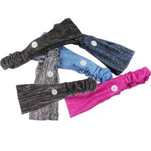 Signore Mask Holder fascia europea e yoga americani fascia elastica titolare Maschera Fascia per capelli con pulsanti per Medico Infermiere ZZA1395