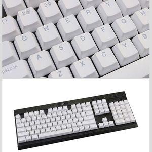 2020 NEUE PBT Double Shot Backlit 108 Top-Beleuchtung durch transluzente Backlit-Tastenkappen für K70 K65 K95 RGB-Tastatur
