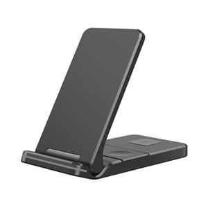 15W Qi carregador sem fio para iphone airpods pro iwatch Galaxy móvel mini almofada de carregamento rápido para samsung apple watch 3 em 1 gy-z6f