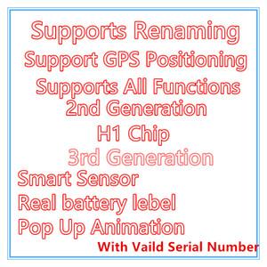 Auricolari Air Gen 3 Generazione AP3 Generazione 3 H1 Chip chip cerniera in metallo Carica senza fili Bluetooth Bluetooth Pod Pro AP2 2nd Generation Earbuds