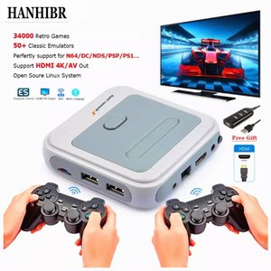 R8 Retro Mini TV  Video Game Console For PS1 N64 DCBuilt-in 50 Emulators with 33200 Games Support HDMI Out With Wireless Gamepad W1219