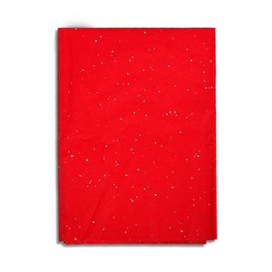 10pcs Glitter Tissue Paper Christmas Gift Packaging Red Home Decoration Party Wedding Diy Supplies Wholesale 5070cm jllOaO mx_home