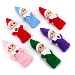 Weihnachten 20pcs neueste Baby-Elf Puppen Baby-Elves Puppen Spielzeug Mini Elf Weihnachtsdekoration Puppe Kinder Spielzeug für Kinder Geschenke