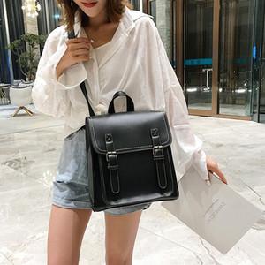 2020 New Korean Version Of The Shoulder Bag Womens Casual Fashion Large Capacity Student Bag Ladies Backpack School Backpacks Cool Bac xDQc#