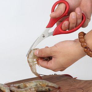 New Popular Lobster Shrimp Crab Seafood Scissors Shears Snip Shells Kitchen Tool Popular Free DHL Shipping YYF4425