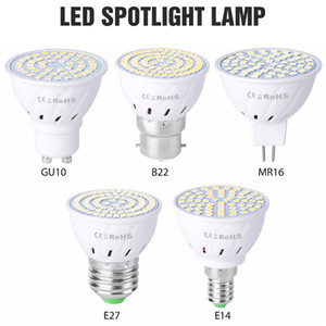 GU10 Led Lamp MR16 Corn Bulb E27 220V Led Bulb Light E14 LED For Home Spotlight B22 SMD2835 Energy Saving