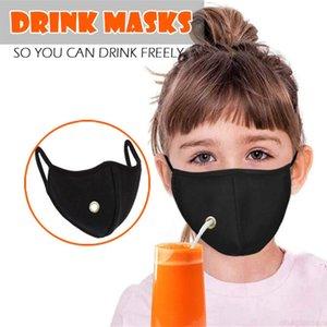İşlev Yetişkin Çocuklar Bez Yüz Maskesi Toz Geçirmez Solunum Kullanıcı Olabilir Çok Mascarilla Anti Haze Içme Meyve Suyu Havalandırma MG D