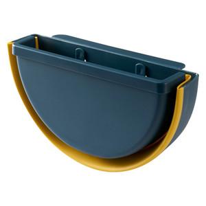 Pliegue el bin de basura de la casa de la cocina de la cocina de la sala de estar montada en la pared de la pared de la pared de la canasta de la caja de almacenamiento de la caja de almacenamiento de la caja de la caja de la caja de la bote de la bote de la bata