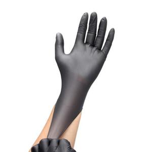 Trabalho Doméstico Unisex descartável de limpeza mecânico luvas de protecção de borracha nitrílica impermeáveis Luvas Limpeza do Lar ferramenta fontes