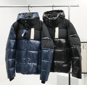Diseñador de los hombres chaqueta de la manera de Down Chaquetas abrigos abajo de la chaqueta al aire libre grueso Parkas Tamaño más famoso Triángulo Patrón Apparel