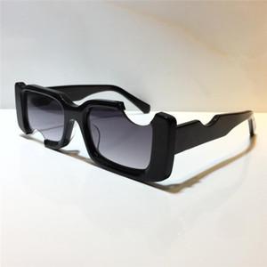 40006 Мода Новые Мужчины Солнцезащитные очки Квадрат Полный Рамка Очки Простые Женщины Популярные Линзы Стиль Лазерное Высокое Качество UV400 Защитный ящик