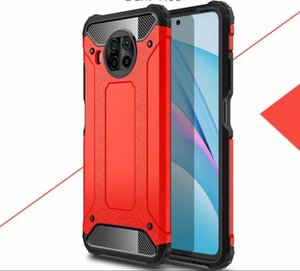 For Xiaomi Mi 10T Lite Case Hot Rugged Combo Hybrid Armor Bracket Impact Holster Protective Cover For Xiaomi Mi 10T Lite