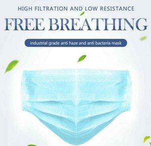 Gettare all'ingrosso Inquinamento elastica polvere strati maschere orecchini traspirante Air spedizione 3 Proof Prevenire 500pcs comodo libero Saliv Cuqf