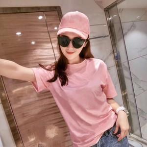 Womens Cotton loose Pattern Print short T Shirt High Quality Womens Summer Short Sleeve Fashion Womens Tees Size S-XL