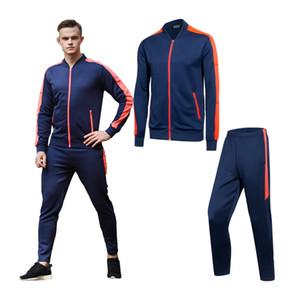 Бег наборы Мужчины Gym спортивные костюмы Quick Dry Мужской Фитнес Беговая Спортивная Baseball Uniform Обучение Tracksuit