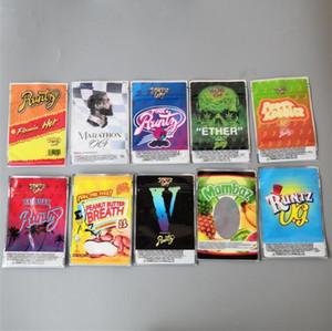 Novo Flamin Hot Runtz Jokesup 3.5g Maratona OG Bag Fios Runtz Frosties Zourz Cheiro à prova de embalagem para 10 tipos Mylar Bag Mylar sacos Sacos Edibles Packa