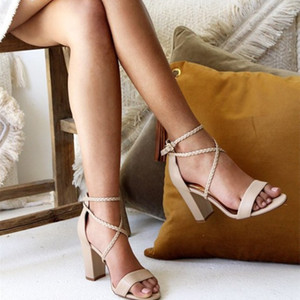 Elegant White Sandals For Women Summer Beach Wedding Bridal Shoes 2021 Fashon Open Toe Ankle Strap Female Casual Sandal Simple AL8723