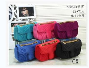 디자이너 핸드백 Marmont 어깨 가방 여성 크로스 바디 핸드백 유명한 디자이너 어깨 최고급 소녀 메시지 뜨거운 체인 편지
