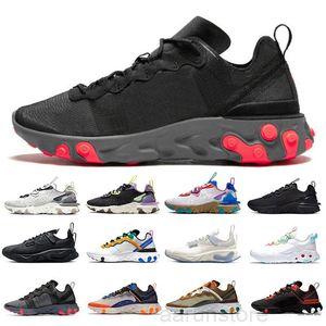 Мода React Vision Element 55 87 Мужские Повседневные Обувь Тип N354 Gore-Tex GTX Phantom Art3MIS Сотовые Схема Мужчины Женщины Спорт K2R5