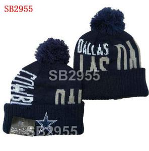 2020 uomini caldi Donne Dallass Cincinnati Beanie calda inverno Beanie Caps cappello Crochet elasticità Sport Knit casuale a6 Warmer Berretti