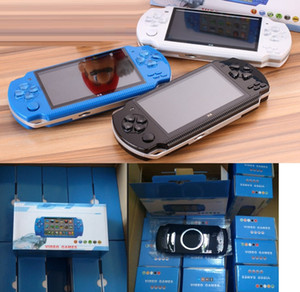PMP X6 Handheld Game Console Screen 4.3 inch For PSP Game Store Classic Games TV Output Portable Video Game Player