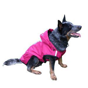 Dog Pet Waterproof Jacket Dog Verão Vest Raincoat reflexivos Pet Exteriores Roupa Small Medium Large Jacket Cães Pet Ropa Para bbyhSL