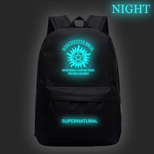 Hot Sale Supernatural Luminous Backpack Men Women Boys Girls Teens Rucksack New Pattern School Knapsack Fashion Men Travel Bag