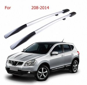 Roof Rack Boxes Side Rails Bars Lage Carrier A Set For Nissan QASHQAI 2008-2014 2009 2010 2011 2012 2013 H4ML#