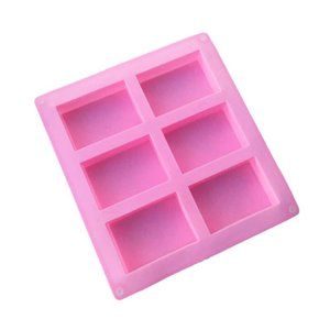 8*5.5*2.5cm square Silicone Baking Mold Cake Pan Molds Handmade Biscuit Mold Soap mold mould CCE2007